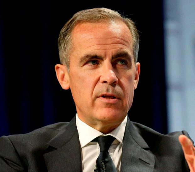 Governor of the Bank of England Mark Carney. Photo: Joshua Roberts/Reuters