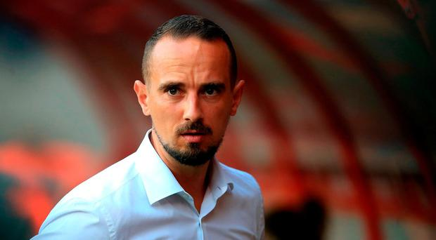 Mark Sampson was dismissed. Photo: PA