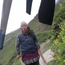 The Nepal woman who hurled rocks at the British family Photo: Independent News Service, screengrab from Gemma Wilson video