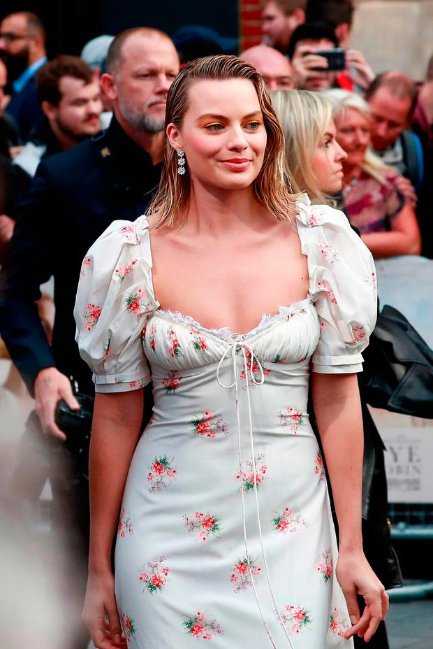 Margot Robbie attends the 'Goodbye Christopher Robin' World Premiere held at Odeon Leicester Square on September 20, 2017 in London, England. (Photo by John Phillips/John Phillips/Getty Images)
