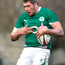 Ryan Caldwell in action for Ireland A