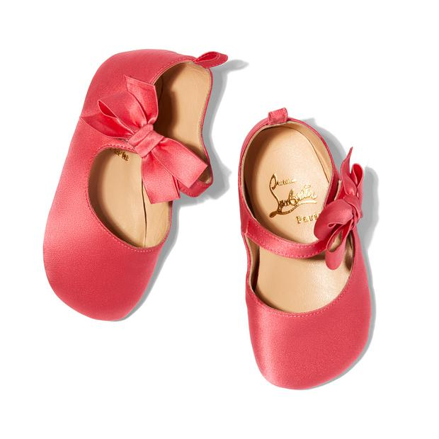 Christian Louboutin's baby shoes for GOOP