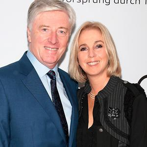 Pat Kenny and Kathy Kenny at the Irish unveiling of the all-new Audi A8 at the RHA Gallery. Pictur: Brian McEvoy