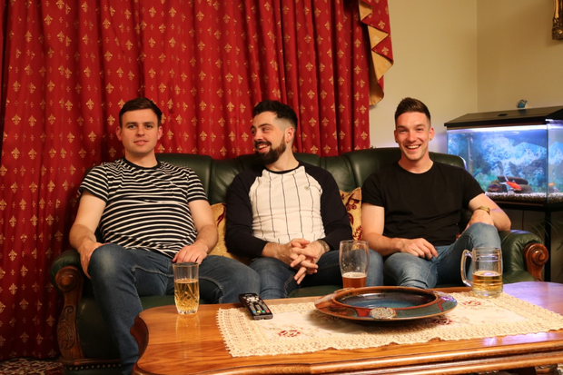 The Louth lads on Gogglebox