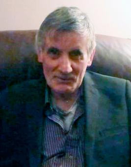 John Nolan, 70, who died after being found on fire in unexplained circumstances