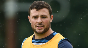 Robbie Henshaw is on the way back. Photo: Sportsfile