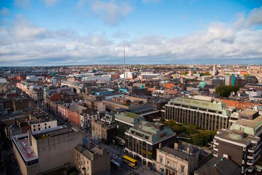 Around 32,000 sq m of new space was delivered, mainly within the city's prime business districts around Molesworth Street and St Stephen's Green in Dublin 2, and on Burlington Road in Dublin 4 up to the end of June. Photo: David Soanes