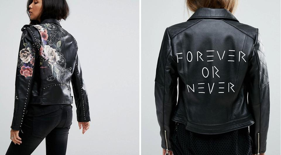Just Married Biker Jackets Are Instagram S Coolest New