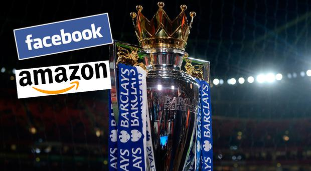 Facebook and Amazon are expected to bid for online rights for the Premier League
