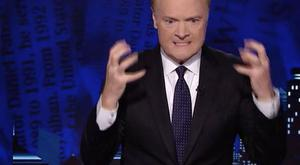 Lawrence O'Donnell mid-meltdown