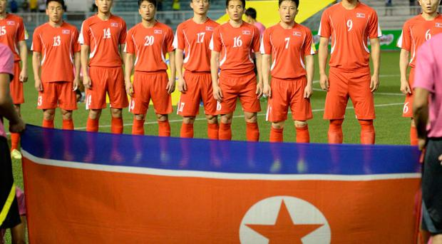 North Korea are currently ranked 124th in the Fifa rankings Getty