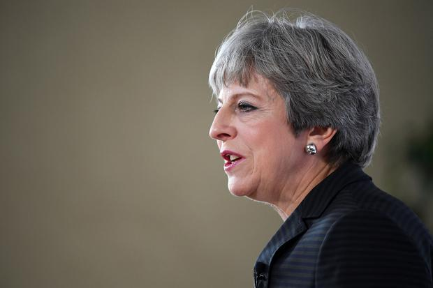 Prime Minister Theresa May delivers a speech in Florence, Italy, where she set out her plans for a transitional period from the formal date of Brexit in March 2019, expected to last two years, before moving to a permanent trade deal. PRESS ASSOCIATION Photo. Picture date: Friday September 22, 2017. See PA story POLITICS Brexit. Photo credit should read: Jeff J Mitchell/PA Wire