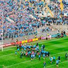 Eamon Dunphy has said that some Dublin footballers 'fancy themselves'