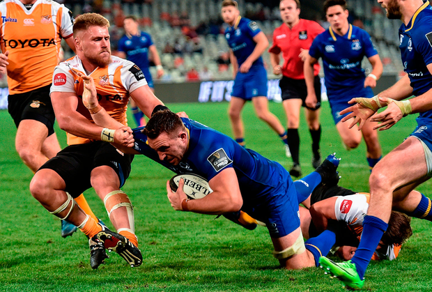 Jack Conan of Leinster in action. Photo by Johan Pretorius/Sportsfile
