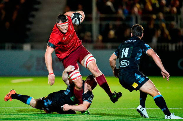 Robin Copeland of Munster. Photo by Rob Casey/Sportsfile