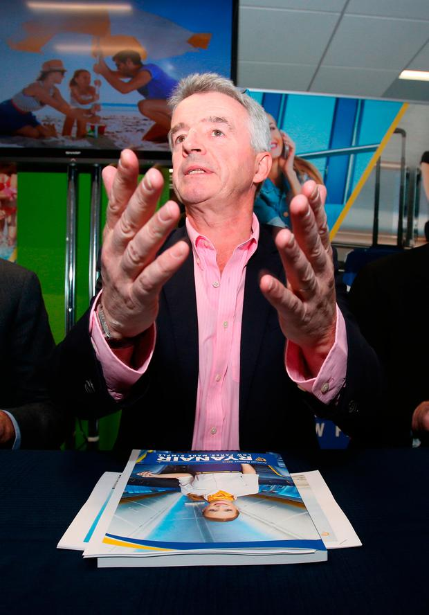 Ryanair chief executive Michael O'Leary. Photo: Niall Carson/PA