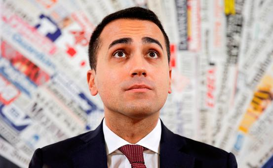 Luigi Di Maio is set to win vote.