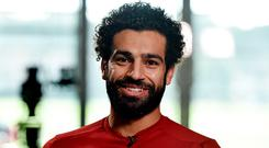'Though he stopped short at describing the capture of the Egyptian as a bargain, Klopp praised Salah for how he has hit the ground running at Anfield.' Photo: Getty