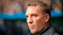 Celtic manager Brendan Rodgers. Photo: AFP/Getty