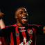 Fuad Sule of Bohemians celebrates at the final whistle Photo: Sportsfile