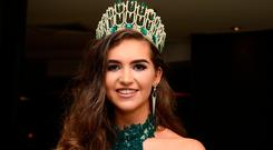 Miss Donegal Lauren McDonagh is crowned Miss Ireland 2017