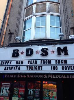 The Black Dog Saloon & Mezcalaria is recognised locally as the BDSM bar on the city's North Main Street (Photo: Twitter/BDSM)
