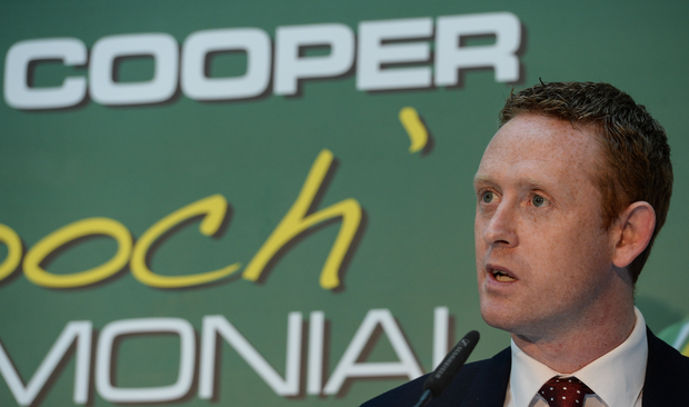 Former Kerry footballer Colm Cooper in attendance at the Colm Cooper Testimonial Dinner launch at Zurich Insurance in Ballsbridge, Dublin. Photo by Piaras Ó Mídheach/Sportsfile