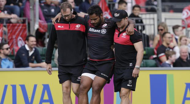 Vunipola to miss England's autumn internationals with knee injury