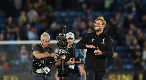 jurgen klopp breathes a sigh of relief but liverpool