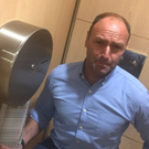 Ryanair communications manager Kenny Jacobs posted the eyebrow-raising photograph on social media late on Friday night before quickly deleting it
