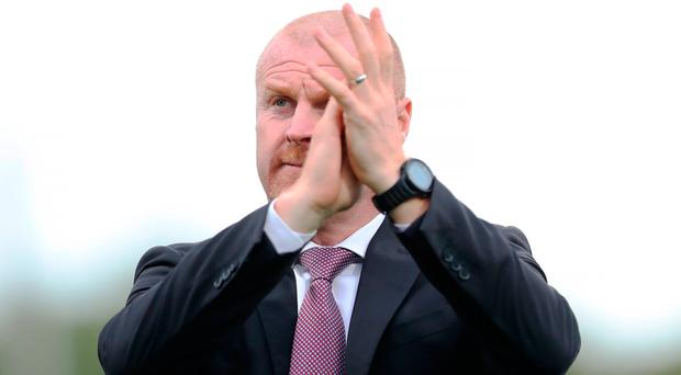 Burnley manager Sean Dyche. Photo: Getty