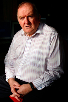 George Hook. Photo: Mark Condren