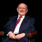 LEGEND: Jimmy Magee in January 2016 in his 'Around the World in 80 Years' show at the Ramor Theatre in Virginia, Co Cavan. Photo: Ray McManus