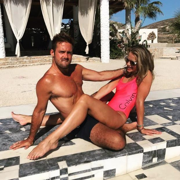 Spencer Matthews and Vogue Williams. Picture: Instagram