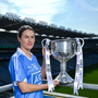 Pictured at the media day is Dublin's Sinead Aherne. Photo by Ramsey Cardy/Sportsfile