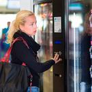 Hospitals were told to install new vending machines which would stock, as a minimum, 60pc of healthy options, and 40pc of other products. Stock Image