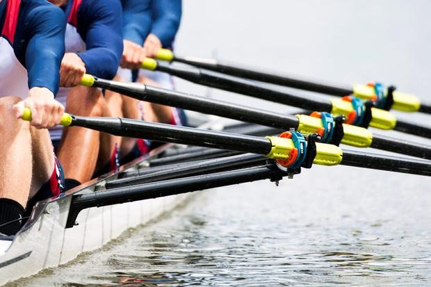 Mark O'Donovan and Shane O'Driscoll dominated their heat of the lightweight men's pairs. Stock photo: Depositphotos