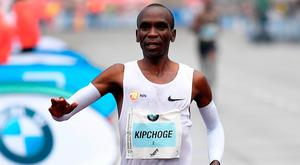 Kenya's Eliud Kipchoge. Photo by Stuart Franklin/Bongarts/Getty Images