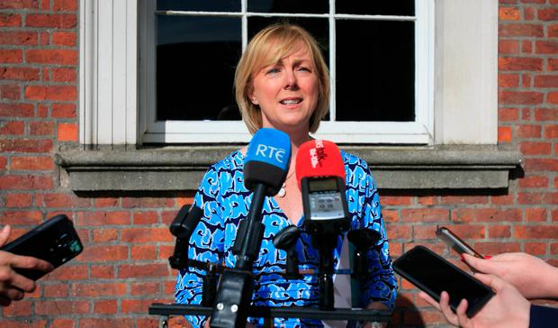 Social Protection Minister Regina Doherty is to repay the cash over 16 months at the request of Finance Minister Paschal Donohoe. Photo: Gareth Chaney Collins