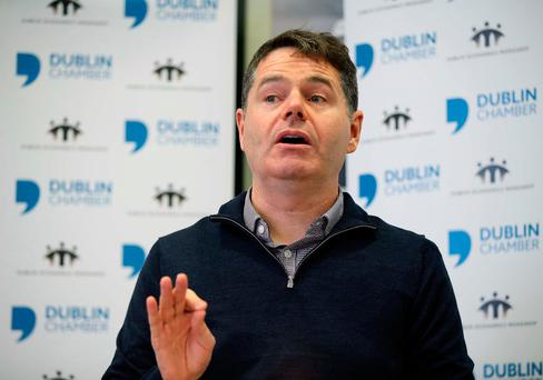 Finance Minister Paschal Donohoe. Photo: Conor McCabe Photography