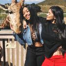 Kylie Jenner shows off her 'baby bump' with best pal Jordyn Woods. Picture: Instagram