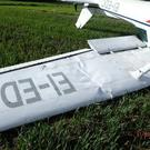 The plane landed in a private airfield in Adamstown