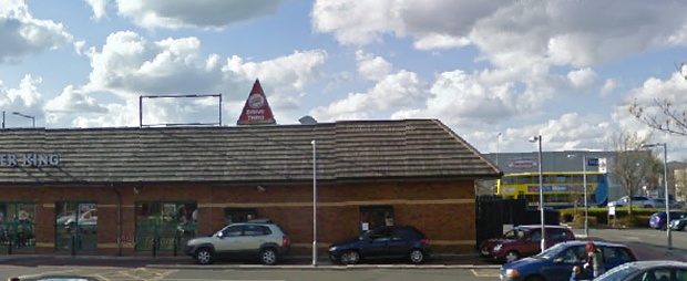 The incident took place at a Burger King on the Malahide Road. Photo: Google Maps