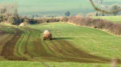 Slurry spreading - a two week extension is being sought