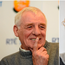 Eamon Dunphy (left) and Ken Early (right).