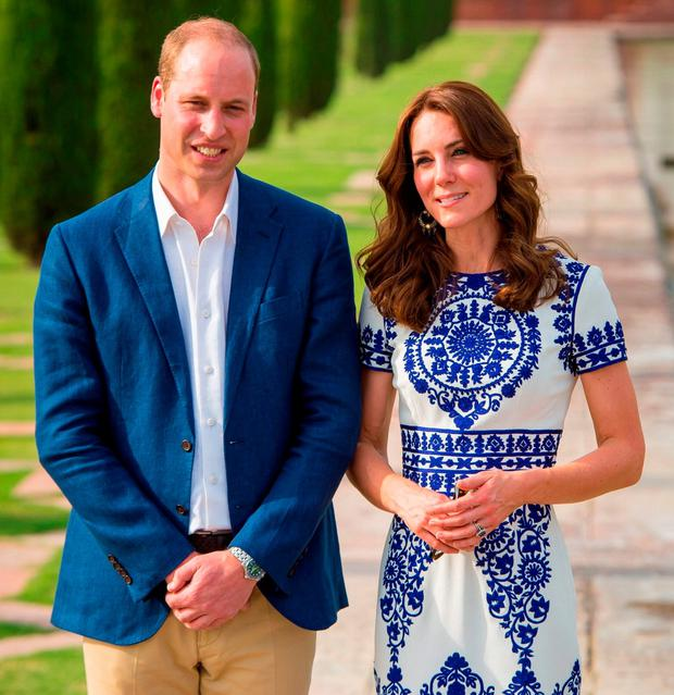 William and Kate. Photo: Dominic Lipinski/PA Wire