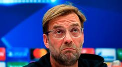 Jurgen Klopp is not happy with Sky's proposal