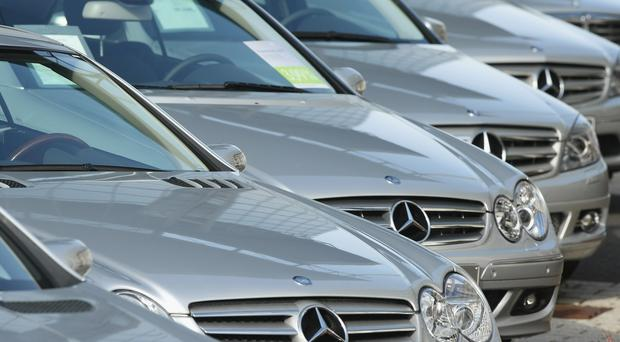 Mr Allen was backed by Mercedes Ireland chief executive Stephen Byrne Photo: GETTY