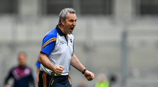 6 August 2017; Tipperary manager Michael Ryan during the GAA Hurling All-Ireland Senior Championship Semi-Final match between Galway and Tipperary at Croke Park in Dublin. Photo by Sam Barnes/Sportsfile