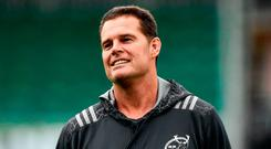 Munster director of rugby Rassie Erasmus. Photo by Rob Casey/Sportsfile